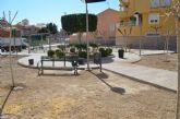El parque Tirachinas de Alguazas renueva su arbolado por otro más limpio y adecuado