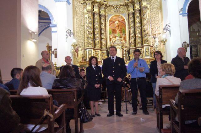 Se celebra el tradicional Concierto de Marchas Pasionarias a cargo de la Agrupación Musical en la iglesia parroquial de Santiago El Mayor - 3, Foto 3