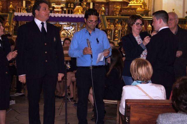 Se celebra el tradicional Concierto de Marchas Pasionarias a cargo de la Agrupación Musical en la iglesia parroquial de Santiago El Mayor - 5, Foto 5