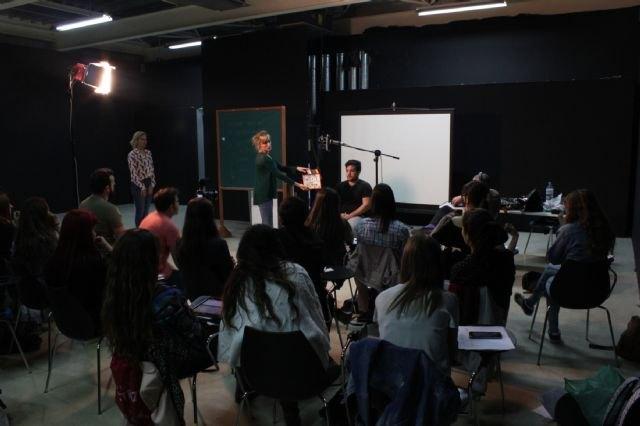 El Centro Párraga acoge el taller ´Interpretación ante la cámara´ impartido por la actriz Cristina Alcázar - 2, Foto 2