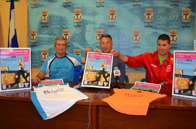 Setecientos corredores participarán en la IV Media Maratón Nocturna Memorial Juan Palazón de Águilas - 1, Foto 1