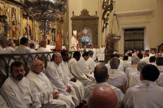 """""""Me siento muy orgulloso de este presbiterio de la Diócesis de Cartagena"""" - 1, Foto 1"""