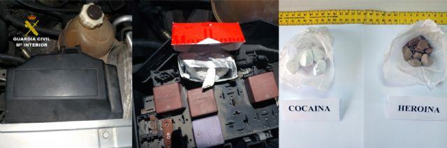 La Guardia Civil desmantela un grupo delictivo dedicado al tráfico de drogas en Blanca - 1, Foto 1