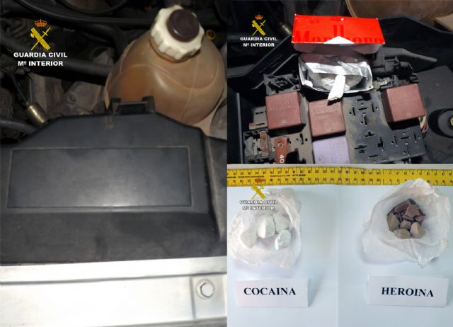 La Guardia Civil desmantela un grupo delictivo dedicado al tráfico de drogas en Blanca - 5, Foto 5