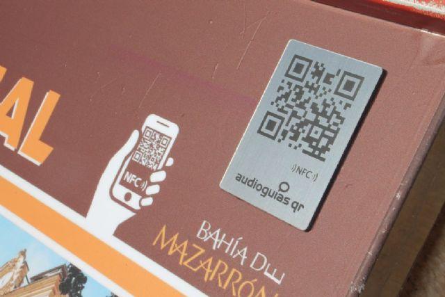 Audio guías QR se suman a la renovada cartelería de los edificiós históricos de Mazarrón, Foto 2