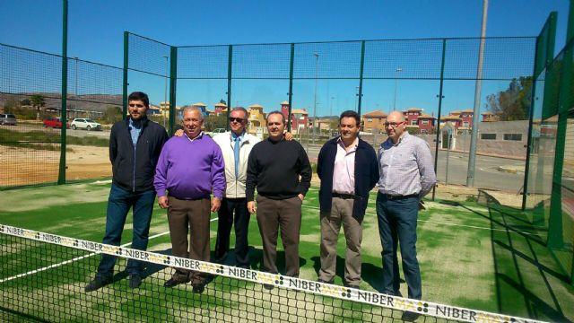 La Hoya del Campo de Abarán ya tiene una pista de pádel - 1, Foto 1