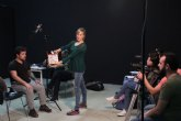 El Centro Párraga acoge el taller ´Interpretación ante la cámara´ impartido por la actriz Cristina Alcázar