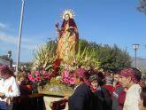 La imagen de la Patrona Santa Eulalia será trasladada de forma extraordinaria el domingo, día 12 de abril, tras la restauración del retablo de su santuario