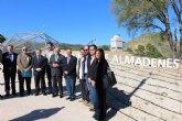 El presidente Garre subraya que el Centro de Interpretación de Almadenes 'será un revulsivo para impulsar el turismo en Cieza'