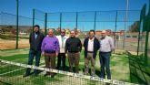 La Hoya del Campo de Abarán ya tiene una pista de pádel