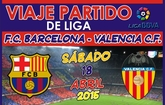 Las Peñas Barcelonistas de Totana y de Alhama organizan un viaje para ver al partido FC Barcelona - Valencia