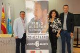 Pablo Alborán actuará en Los Alcázares el próximo mes de agosto