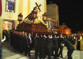 El Nazareno protagonizó la noche de Miércoles Santo en Puerto Lumbreras 2015