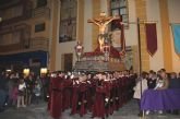 Emotiva Procesión del Silencio con el Stmo. Cristo de la Fe en la noche de Jueves Santo 2015
