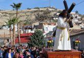 Puerto Lumbreras celebra el Vía Crucis por el entorno del Castillo de Nogalte