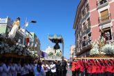 Puerto Lumbreras culmina su Semana Santa con la procesión del Encuentro 2015