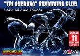 MOVE organiza la Triquedada natación Swimming club, el próximo sábado 11 de abril