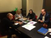 Los candidatos de Totana Puede (Podemos) mantienen una reunion con CEBAG