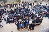 Los niños del colegio La Milagrosa protagonizan el manifiesto del Día Mundial de las Lipodistrofias