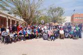 Usuarios de los Centros de Día con Enfermedad Mental y Ocupacional José Moyá Trilla disfrutan de su particular Entierro de la Sardina