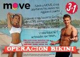 MOVE lanza la promoción 3+1 con motivo de la operación bikini