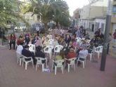 El PSOE de Archena toma la calle