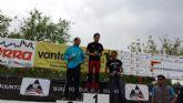 Diego Martinez, del Club de Atletismo de Totana, participó en la carrera de montaña El Valle Trail