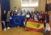 Los alumnos del Centro de Enseñanza Samaniego participan en el concurso Euroscola