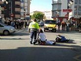 La Policía Local intervino durante el mes de marzo en 14 accidentes de circulación con el balance total de un herido grave y ocho leves