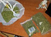 La Guardia Civil desmantela en Mula un punto de cultivo y venta de marihuana en un domicilio