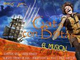 GATO CON BOTAS, EL MUSICAL llega al Teatro Villa de Molina el sábado 18 de abril