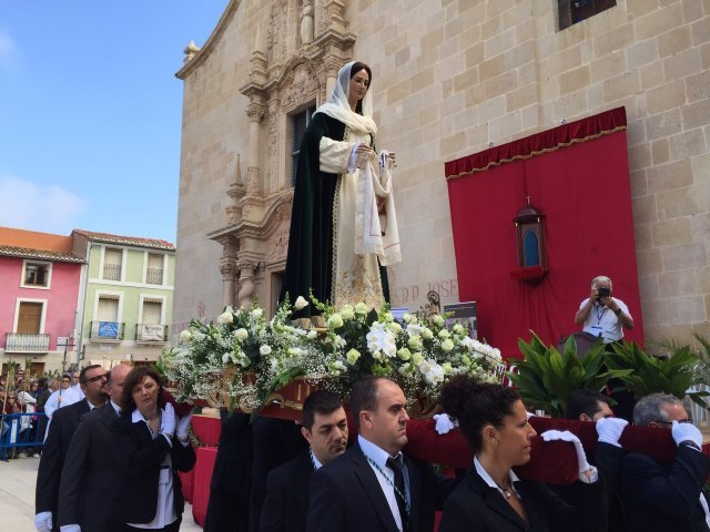 The Brotherhood of Veronica took another year in Alicante in the Eucharist and Pilgrimage in honor of the Holy Face