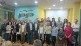 Los integrantes de lista electoral del Partido Popular se presentan en Alcantarilla