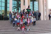 Las candidatas a Reina de las Fiestas de Alcantarilla visitan Los Alcázares