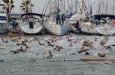 El VII Triatlón sprint Marina de Las Salinas congrega a 250 atletas en San Pedro del Pinatar