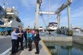 Un nuevo varadero completa las instalaciones portuarias de San Pedro del Pinatar