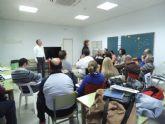 Trece asociaciones aprenden a mejorar su funcionamiento en el V Curso de Gestión ofrecido por el Hotel de Asociaciones de San Javier