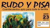 La puesta en escena del Cuentacuentos Rudo y Pisa tendrá lugar este jueves 23 con motivo del Día del Libro