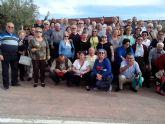 Los mayores de los hogares de San Pedro y Lo Pagán visitan el Valle de Ricote