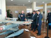 El Ayuntamiento de Los Alcázares  acoge desde hoy la historia de la aviación militar española con una magnifica exposición