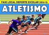 La Fase Local de Atletismo de Deporte Escolar tendrá lugar mañana en el Polideportivo Municipal '6 de diciembre'