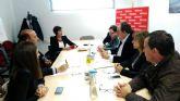 El PSOE analiza la situación le la localidad con la Cámara de Comercio