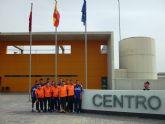 Jornada deportiva de Plásticos Romero Cartagena en el Centro Penitenciario de Campos del Río