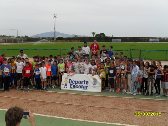 The Department of Sports organized the local phase Athletics School Sports