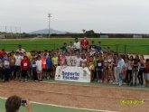 La Concejalía de Deporte organizó la Fase Local de Atletismo de Deporte Escolar