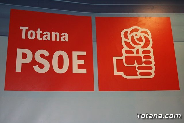 "The PSOE said that ""hides the mayor that the city of Totana is involved"""