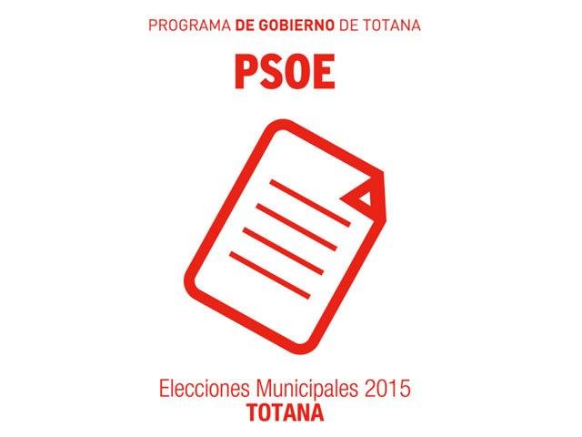 El PSOE publica su programa de gobierno - 1, Foto 1