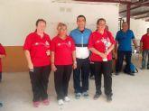 Las jugadoras del 'Club Petanca La Salceda' torreño, campeonas regionales