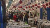 El alcalde inauguró la Feria de Abril de Santiago de la Ribera que permanecerá abierta hasta el domingo 3 de mayo