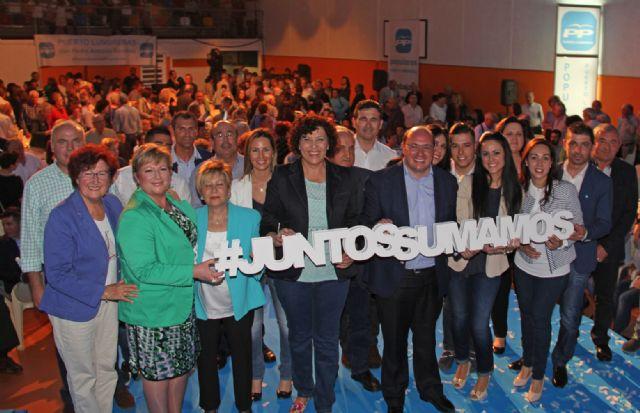 Más de 700 personas en la presentación de la candidatura del Partido Popular de Puerto Lumbreras, encabezada por Mª Ángeles Túnez - 2, Foto 2